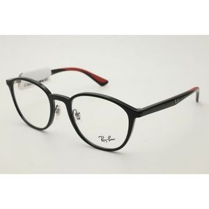 Ray Ban RB 7156 Eyeglasses 5795 Black Frames 53mm